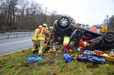 Blaulichtticker: Ratingen / A52: Schwerer Verkehrsunfall - Pkw über...