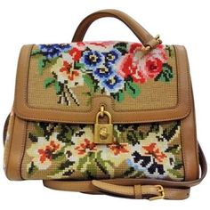Preowned Dolce & Gabbana Needlepoint Bag