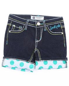 Buy DENIM ROLL UP SHORTS (7-16) Girls Bottoms from Southpole. Find Southpole fashions & more at DrJays.com