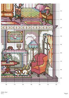 Doll House (bottom-Right #6/9) Gallery.ru / Фото #18 - Домик 2 - Mosca