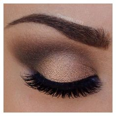 Smokey eye ❤ liked on Polyvore featuring beauty products, eyes and makeup