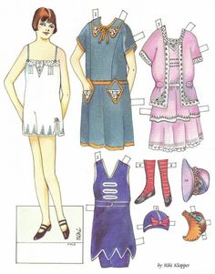 Lillie: Fashions of the 1920s by Riki Klopper, from Doll Reader, Oct 1991   Lillie_1920s_Fashion_Era_Doll_Reader_Mag-Oct1991_2