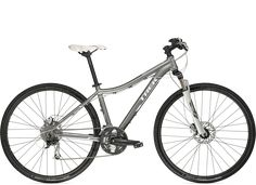 Neko Mountain Bike by Trek... the silver one with the disk brakes. $869.99