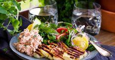 Halloumi, Cobb Salad, Squash, Zucchini, Grilling, Mat, Food, Pumpkins, Gourd