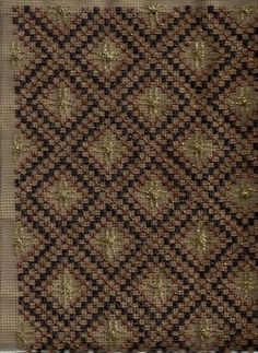 Beaded Embroidery, Cross Stitch Embroidery, Bargello, Needlepoint, Bohemian Rug, Hobbies, Crochet, Art Crafts, Cross Stitch
