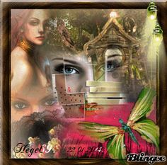 Hege69. Many Faces, Photo Editor, Animation, Scrapbook, Pictures, Painting, Art, Bonjour, Photos