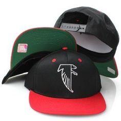 best service 2a15c 85206 Atlanta Falcons Retro Logo Snapback Cap Hat Red Blk by NFL.  9.72. Brand new  retro snapback cap. Embroidered team logos. Snapback design.