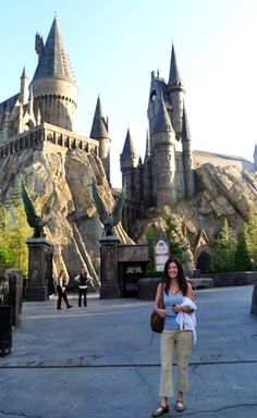 Hogwart's Castle Harry Potter World Orlando