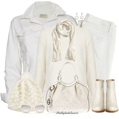 """""""Winter All Whites"""" by honkytonkdancer on Polyvore"""