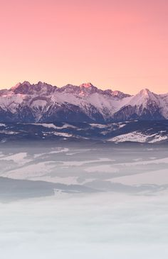 The Tatra Mountains, Poland*****i wonder what the highest peak reaches within the Polish borders********