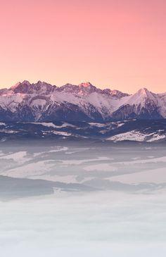 The Tatra mountains, Poland. #travel #mountains #poland