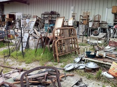 One of my fav. places is where the junk is. I believe we toss way to much stuff. So many treasures so little time.