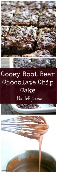 This cake is gooey and delicious and is a chocolate lover's dream.