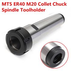 MT5 ER40 M20 Collet Chuck Holder ER40 Spindle Tool Holder CNC Lathe Tool