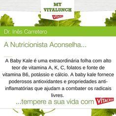 #1 Nutritiva Baby Kale  Já conhece a Baby Kale? Uma extraordinária folha com alto teor de vitamina A, K, C, folatos e fonte de vitamina B6, potássio e cálcio. Sempre com moderação e na dose ideal, a baby kale fornece poderosos antioxidantes e propriedades anti-inflamatórias que ajudam a combater os radicais livres. Se desconhece esta poderosa folha, não se esqueça que ela consegue suprimir grande parte das suas necessidades em micronutrientes. Acresce ainda a extraordinária característica de…