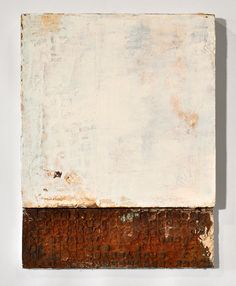 Claire Wilson - Base | Rust, Acrylic, Dirt | 2013