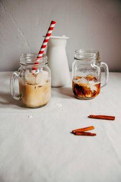 Hummingbird High - A Desserts and Baking Food Blog in Portland, Oregon: Overnight Cinnamon Iced Coffee and Cream