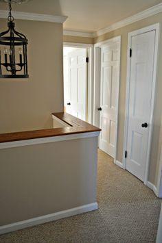 "Painting A Hallway den/hallway paint: ""bennington grey""benjamin moore | for the"