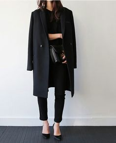 Elegant style - black layers