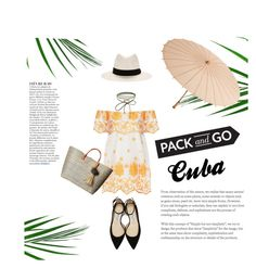 """""""Cuba"""" by janicevc on Polyvore featuring rag & bone, Miguelina, Accessorize, Jimmy Choo, Anja, Hat Attack and Cultural Intrigue"""