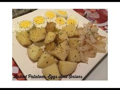 Boiled Potatoes, Eggs & Onions... SIMPLE! - YouTube
