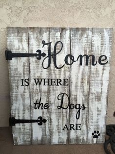 Old Pallet Gets Repurposed To Cool Porch Sign. Be creative with what your sign says!