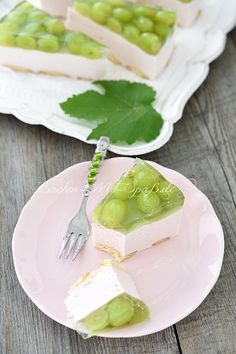 Götterspeise- Quark- Kuchen