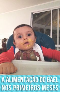 Os erros e acertos na alimentação do Gael nos primeiros meses. A mamãe de primeira viagem aqui errou bastante, mas no fim deu tudo certo.