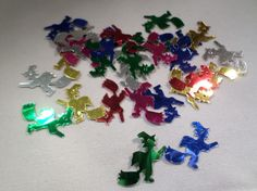 30 x Craft Sequins - Halloween - Witch - 19mm - Mixed Colour