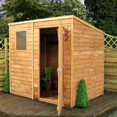 petite cabane de jardin en bois pour l'extérieur