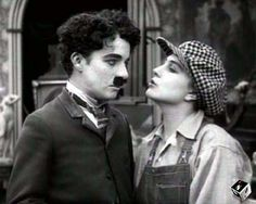 Charlie Chaplin and Edna Purviance Charlie Chaplin, Edna Purviance, Bennett Cerf, Chaplin Film, Charles Spencer Chaplin, George Burns, My Prince Charming, Iconic Photos, Silent Film