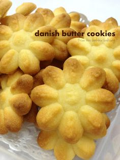 the batter baker: Danish Butter Cookies