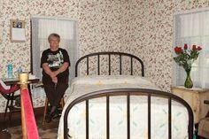 Inside of Elvis' home in Tupelo