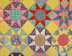 Eight Point Stars Quilt- French Stars?