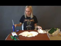Пион из гофрированной бумаги, мастер-класс - YouTube