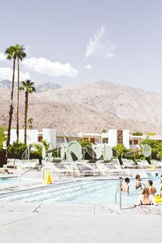 road trip usa poets.  Palm Springs
