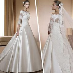 2013 edition sexy royal train wedding dress slit neckline lace long sleeve winter wedding dress wedding-inWedding Dresses from Apparel & Accessories on Aliexpress.com $271.83