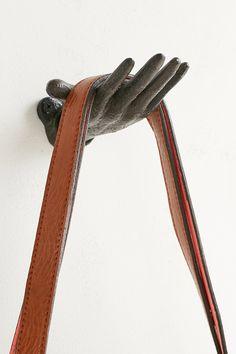 Open Palm Cast Iron Hook