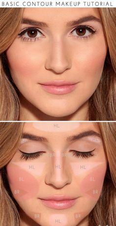 We know, contouring can be intimidating. This chart makes it a little less daunting. Pin now, use forever!
