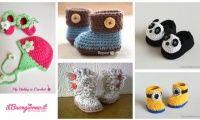 10 scarpette da neonato che accenderanno la voglia di lavorare con lana e uncinetto