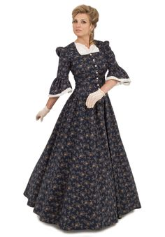 Old Western Dresses, Gowns, Ensembles, and Accessories