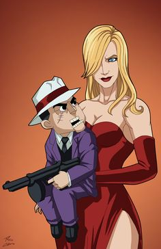 Scarface And Sugar commission by phil-cho on DeviantArt Marvel And Dc Characters, Superhero Characters, Superhero Suits, Batman Universe, Comics Universe, Resident Evil, Marvel Dc, Comic Costume, Comic Villains
