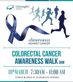Walk for a Cause!!! Register today for the Colorectal Cancer Awareness 3km Walk - 18th Mar 2018 at http://ift.tt/2EF7EcW  Raising Awareness not only in Penang but around the World.  #howei #howeievents #havefun #malaysia #sportsevents #howeiistheway #runningevent #onlineregistrationportal #runforyourlife #virtualrun #cyclingevent #yourbesteventpartner #anyevents #FF #instafollow #followback #tagforlikes #jointhefun #keeprunning #nevergiveup
