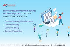 Drive profitable customer action with our dynamic CONTENT MARKETING SERVICES. Content Marketing, Digital Marketing, Inbound Marketing