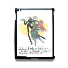Nightmare Before Christmas Quote TATUM-7740 Apple Phonecase Cover For Ipad 2/3/4, Ipad Mini 2/3/4, Ipad Air, Ipad Air 2