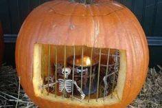Prison Cell Jack-O-Lantern