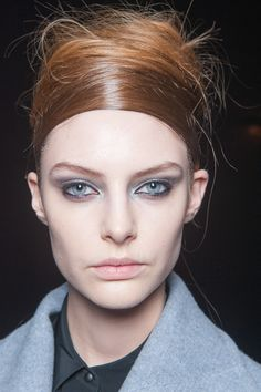 BACKSTAGE BEAUTY AT DONNA KARAN Dewy skin and high-end futurism on DK's 30th anniversary   Words Elsa de Berker Photography G...