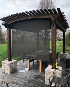Can solar shades help insulate my windows? How do I stop my shades from being blown around? We've gathered up our most frequently asked solar shade questions and answers to help you decide if solar shades are right for you! Outdoor Shade, Patio Shade, Outdoor Blinds, Window Coverings, Window Treatments, Exterior Shades, Solar Shades, Shade Structure, Backyard Patio