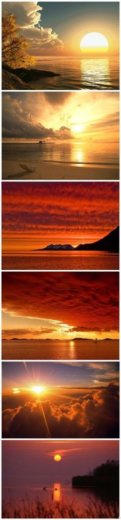 Different sunset