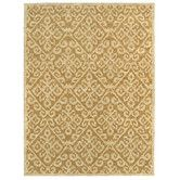 Found it at Wayfair - Shaw Rugs Mirabella Capri Gold Rug